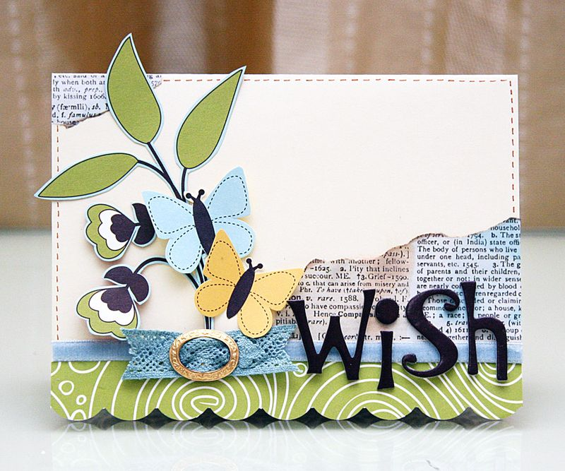 Custom Card Template make a card : World Card Making Day - Iris Babao Uy