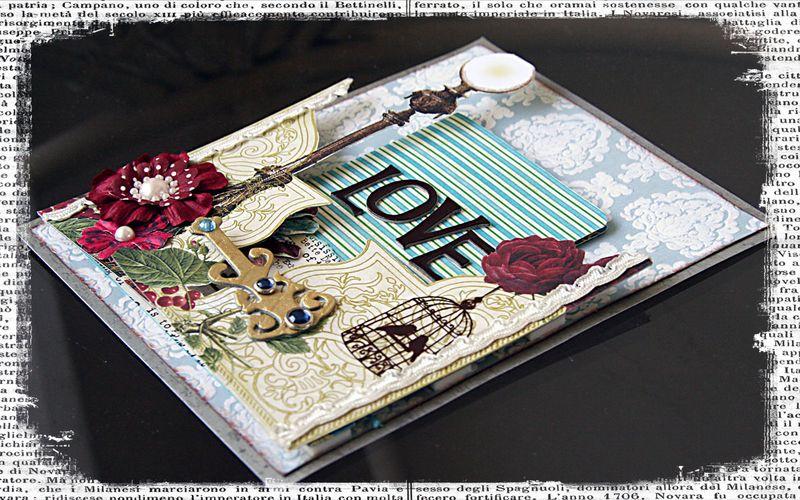 Lamp Post Card (mf)