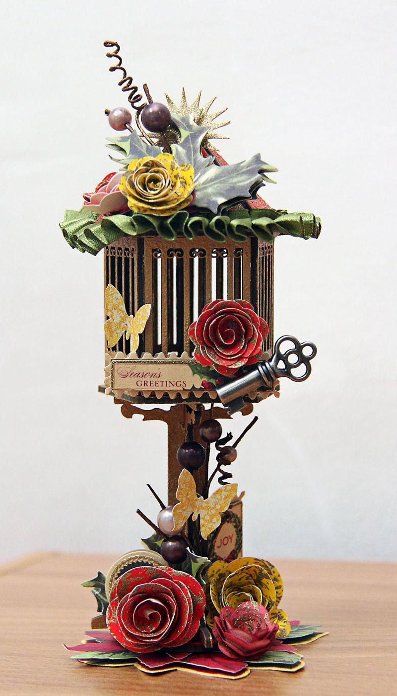 Christmas Birdhouse mf