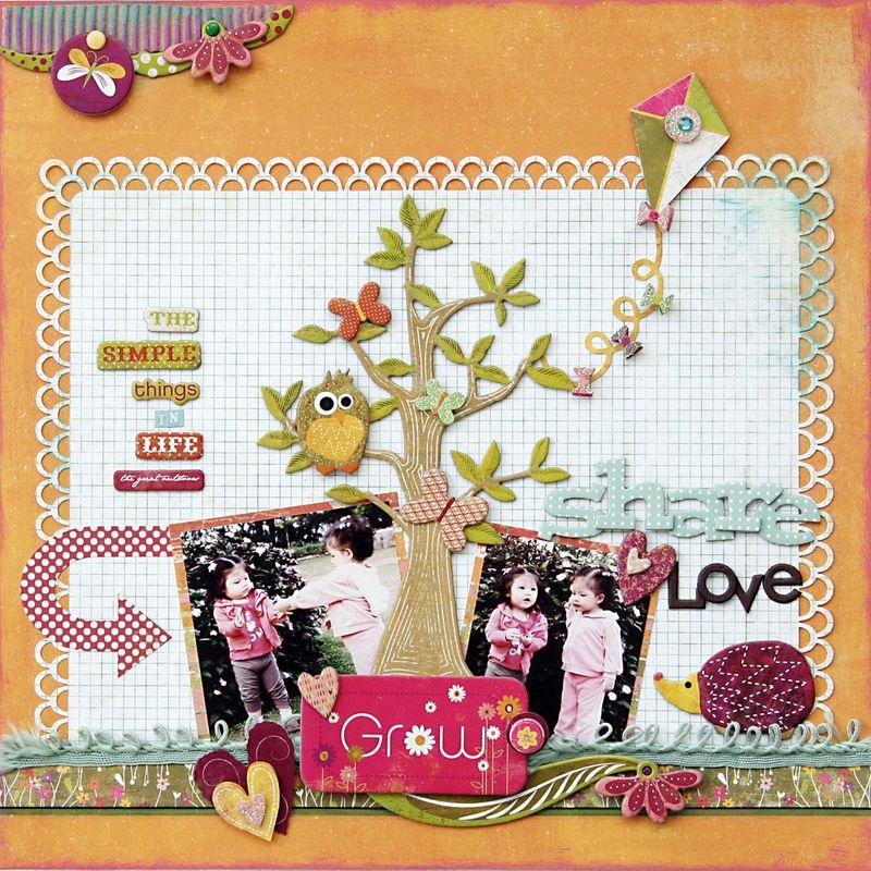 Share, Love, Grow mf