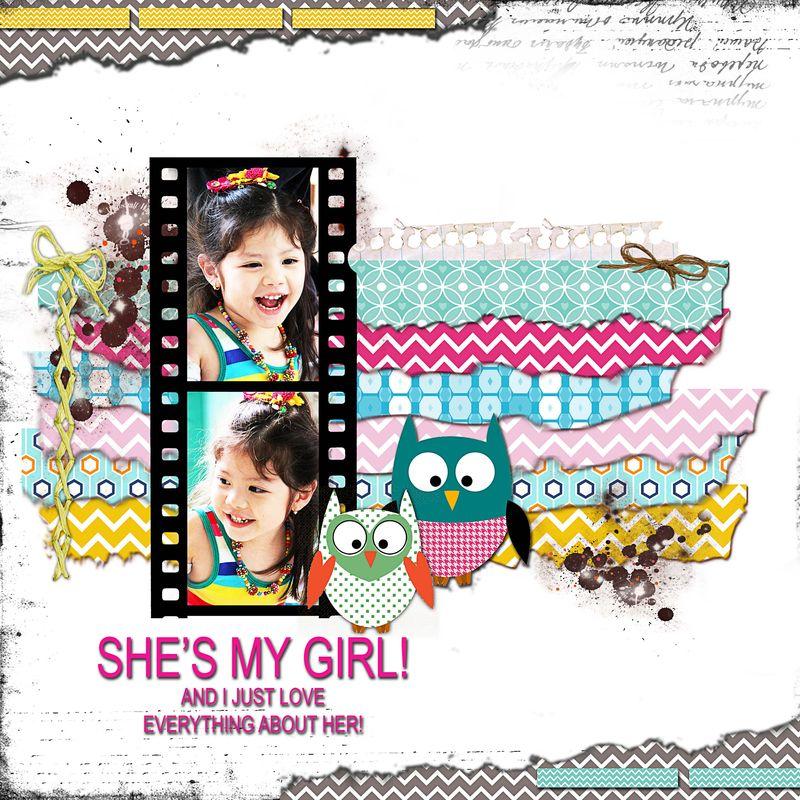 SHE'S MY GIRL