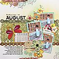 August Layout
